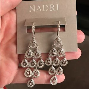 Beautiful Nadri Cascade Earrings